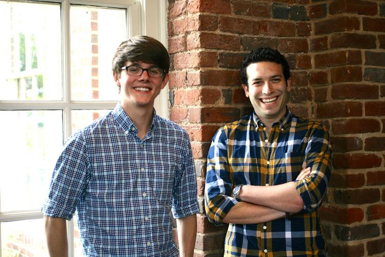 Ben Thuss, left, and Matt Brodeur, right, are the masterminds of triptap.