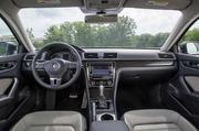 The interior of the The 2014 Volkswagen Passat.