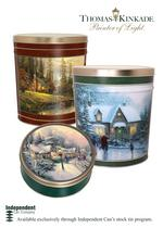 Harford County tin can maker inks deal to use <strong>Thomas</strong> <strong>Kinkade</strong> paintings