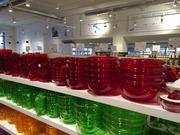 But elsewhere in the Eataly Chicago, merchandise displays could make customers mistake the place for a Crate & Barrel outlet.