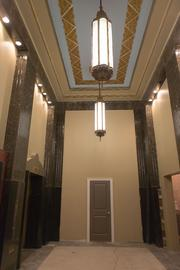 The lobby of 301 N. Charles St.