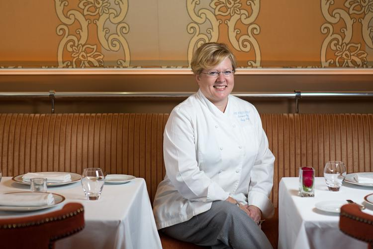 Cindy Wolf, pictured here, and Tony Foreman will open Petit Louis restaurant along the Columbia Lakefront.