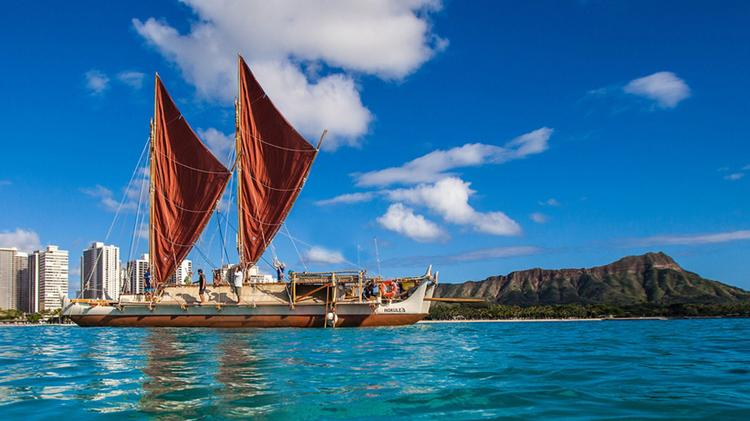 American Savings Bank has launched a community fundraiser in its branches support to further the mission of the Polynesian Voyaging Society's around-the-world voyage of the Hokulea.