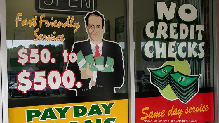 Payday lenders offer short-term loans with high interest rates.