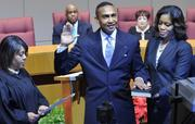 Charlotte's new mayor, Patrick Cannon, was sworn in Monday evening at the Charlotte Mecklenburg Government Center uptown. Earlier that afternoon, he talked with Senior staff writer Erik Spanberg talked about his vision for the Queen City. Among his top priorities in the coming term include jobs and business growth, upgrades in transportation and affordable housing.