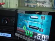 The dashboard monitor for Lightning Hybrids LLC's system updates drivers on the system's performance.