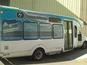 The city of Loveland has two buses outfitted with Lightning Hybrids LLC's hydraulic hybrid system.