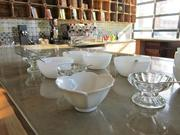 Fresh-out-of-the-machine gelato will be served in Dolcezza's tasting room in a variety of bowls.