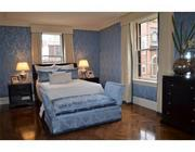 The master bedroom at 74 Beacon.