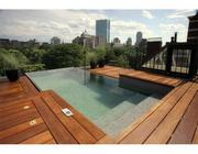 A rooftop pool at 74 Beacon.