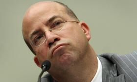 Jeff Zucker, then president and chief executive officer of NBC Universal, speaks during a hearing of the House Judiciary Committee in Washington, D.C. in February, 2010.