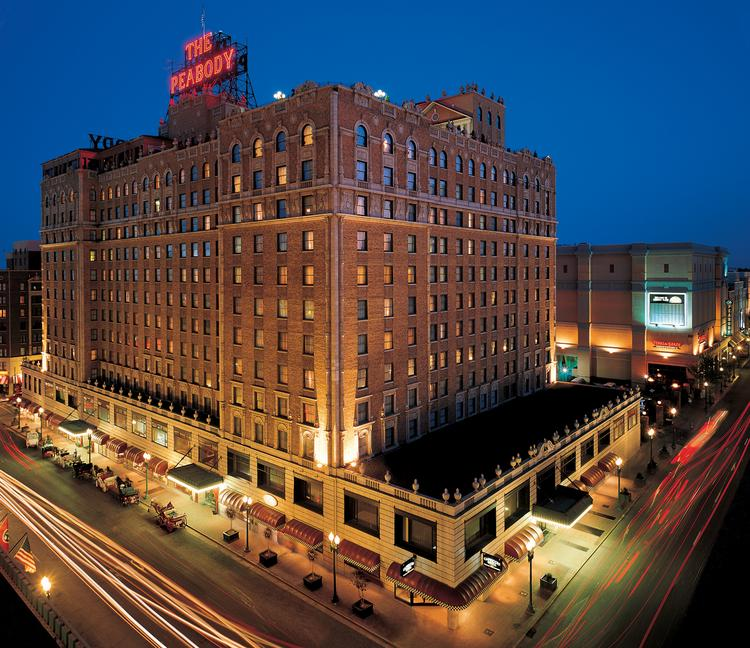 The Peabody Hotel in Downtown Memphis