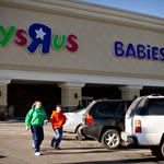 "Toys ""R"" Us' same-store sales dip for fourth-quarter"
