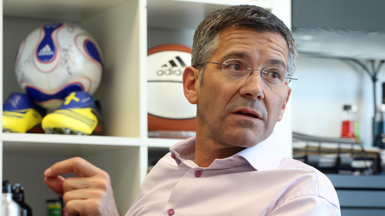 Adidas CEO Herbert Hainer on Tuesday said he believes the brand's campaigns and product releases around the upcoming World Cup will give the company a boost. It needs it after reporting flat sales growth in the first quarter.