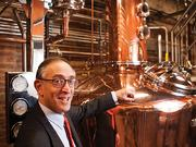 Max Shapira is president of Heaven Hill Distilleries. He is shown here at the new Evan Williams Bourbon Experience on Main Street.