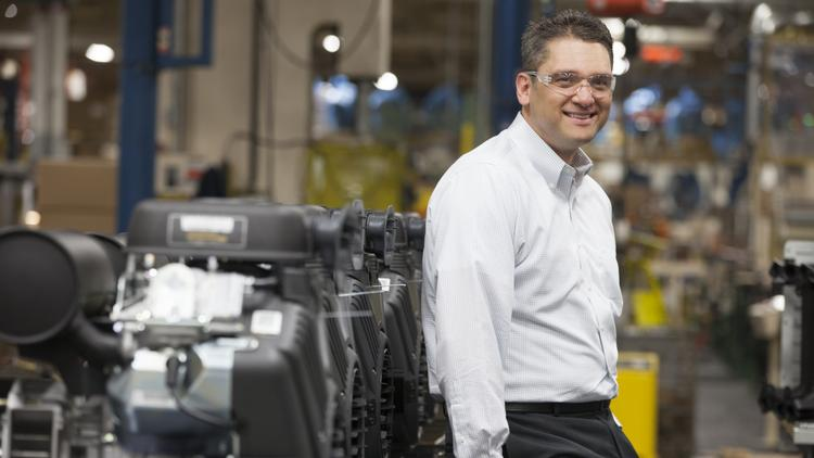 """Todd Teske...""""We saw improved sales results for our engines and products due to the new innovative products launched this year and market share gains made within the large engine category."""""""