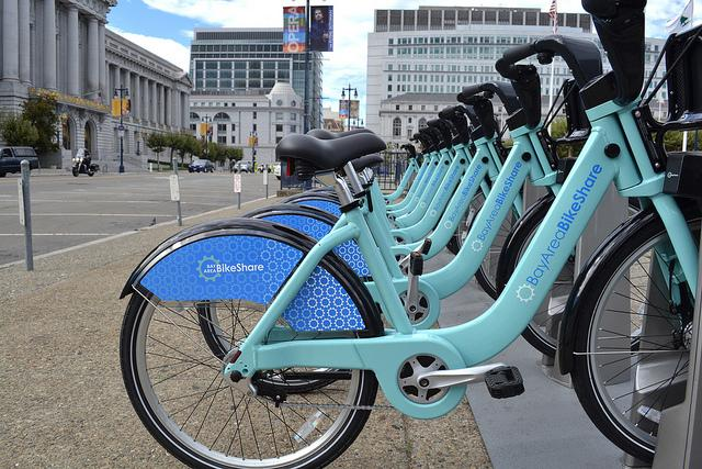 Bay Area Bikeshare officials said the three-month-old program has attracted many users.