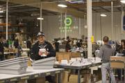 Zazzle 's second warehouse, which opened in August and is fully operational for the holiday season.