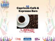 Capriccio Café and Espresso Bar is one of Philadelphia's longest running locally owned and operated café brands. It's two locations, led by David Wagaman, have 14 employees.