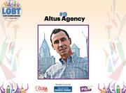 Altus Agency is a full service ad agency. It's led by David Jefferys and has a staff of 12.