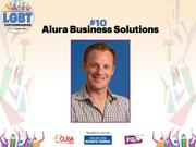 With a team of 10, Alura Business Solutions provides information technology solutions to small and mid-size businesses. The company is under Jason Derstine's supervision.