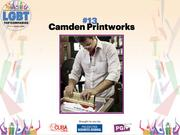 With a team of eight, Camden Printworks provides screen printing to customize a variety of products. The top executive is Adam Woods.