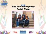 The Red Paw Emergency Relief Team provides emergency transport, shelter and veterinary care. The company employs five and is led by Jen Leary, founder and president.