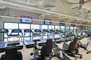 The fitness center also received major renovations.