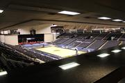 The view from inside a new suite at the Baltimore Arena.