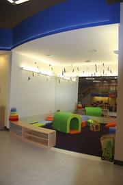 Play Cafe in Bryn Mawr, Pa., caters to children up to 5 years old, offering music, art, yoga and other classes. Parents and caregivers can hang out in the cafe-and-lounge area.