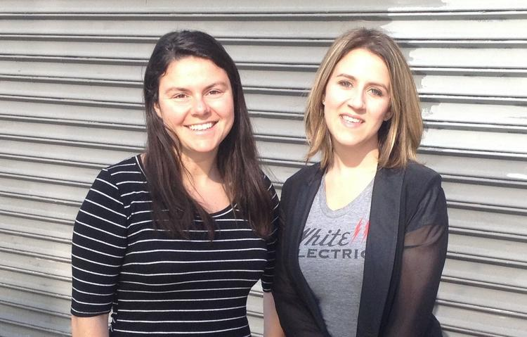 Tumml founders Clara Brenner (right) and Julie Lein.