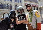 Fans showing their true colors during Star Wars Weekends at Disney's Hollywood Studios. This won't change.