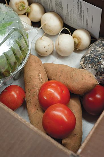 Grasshoppers has delivered fresh food from local farmers to about 1,200 customers in the Louisville area.