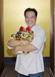 October:  Thanh Nguyen, owner and sushi chef of Oishii was featured in an article about he was rebuilding his restaurant after it was destroyed by a fire.