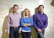 May:  Bernie Perrine, Co-Founder and CEO at HipLogiq - Purple with co-founders, Adam Root, CTO and Lindsey Madison, CPO.