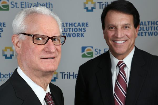 TriHealth CEO John Prout and St. Elizabeth CEO John Dubis are in charge of what has been dubbed the Healthcare Solutions Network.