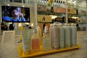 Drybar's line of branded products.