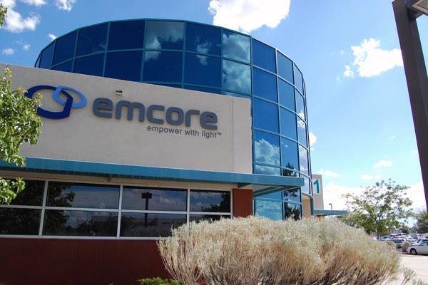 "EMCORE Corp. has had a ""reduction in force"" of 29 positions, and 25 more employees have been placed on an eight-week furlough, according to a spokesman."