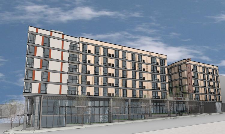 Construction has begun on this Residence Inn by Marriott in Seattle's University District. The six-story hotel will have 165 rooms and is scheduled to open in 2015.