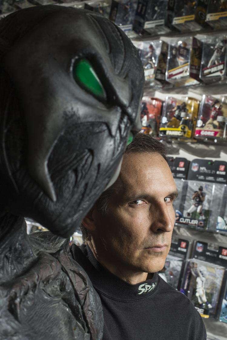 Todd McFarlane bets big on the future of toys for his business.