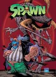 "A cover of Todd McFarlane's ""Spawn"" comic book."