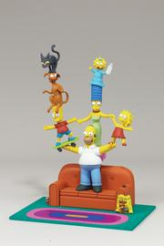 """A set from McFarlane Toys' line of """"Simpsons"""" figures."""