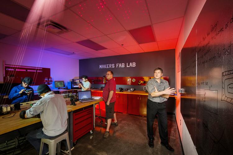 The University of Advancing Technology has opened the Makers Fab Lab in Tempe.