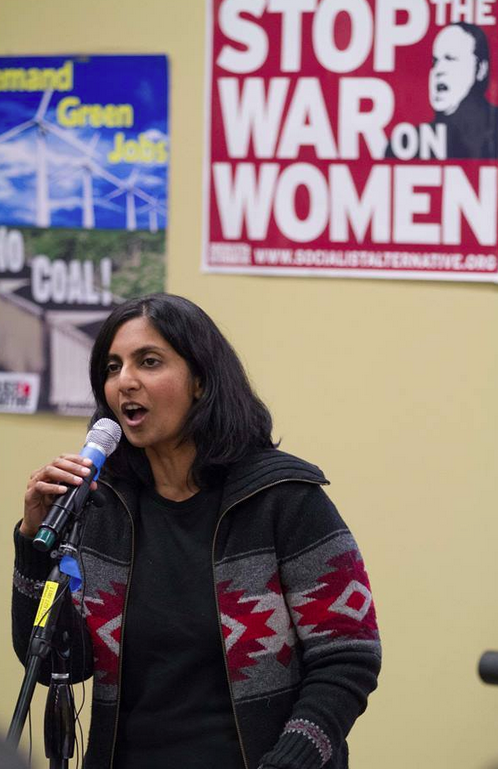 The election of Socialist Kshama Sawant to the Seattle City Council highlights why people from President Barack Obama to the head of the Seattle Metropolitan Chamber of Commerce are talking about income inequality. The Seattle City Council plans to look at raising the minimum wage next year.