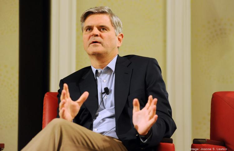 Venture came back: We were skeptical when Steve Case predicted the D.C. region would have a $1.1 billion year in venture funding. In retrospect, that forecast turned out to be a conservative one. We had already passed that total by the end of the third quarter. A flurry of fundings in the past three months — like FoundationDB's $17 million Series A and Invincea's $16 million Series C — will push the year-end total even higher. Pictured: Revolution LLC founder Steve Case.