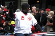 Opening Day Parade Grand Marshal George Foster.