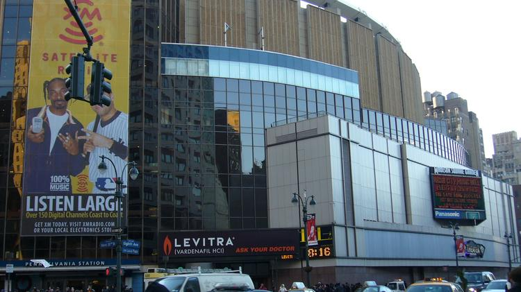 Madison Square Garden Has Been At Its Current Location On 8th Avenue  Between 31st And 33rd