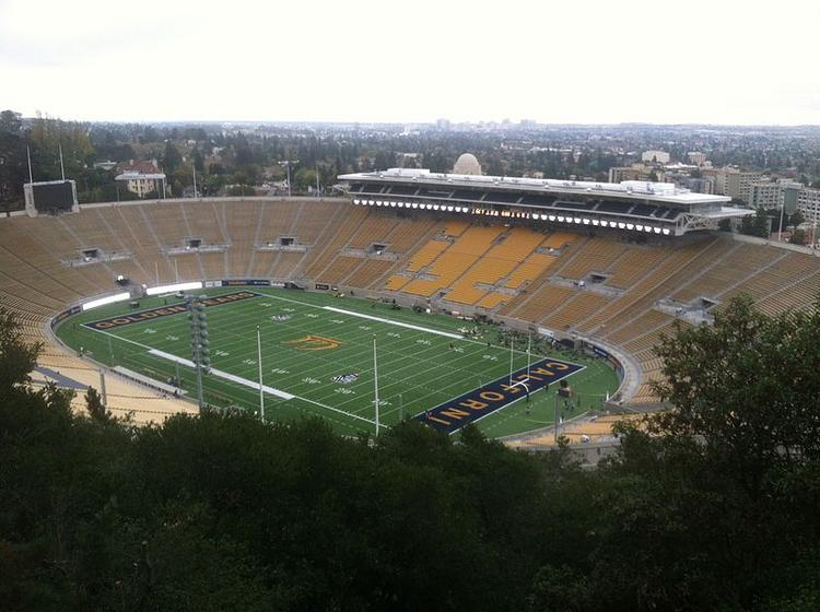 Kabam Inc. buys the naming rights to the football field at Cal's Memorial Stadium.
