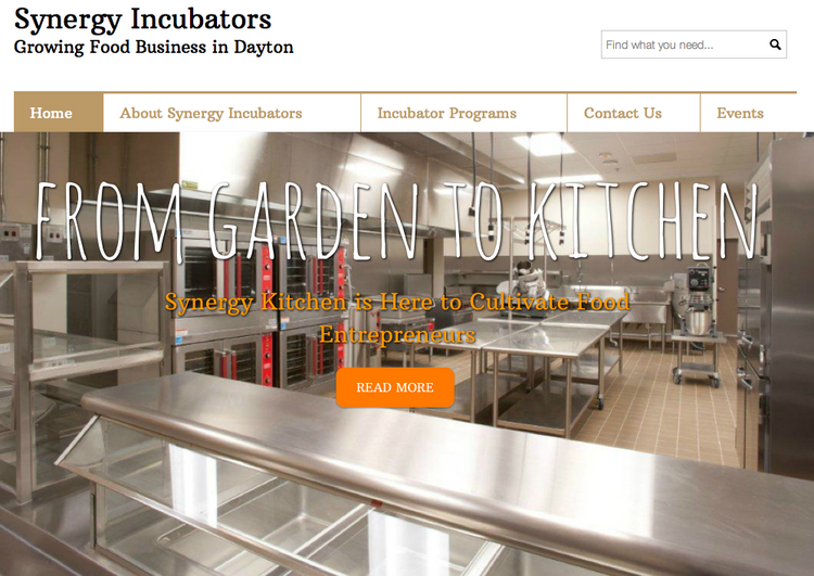 Synergy Incubators, a group founded with the goal of supporting food entrepreneurs and incubating food businesses in the Dayton area, is looking for a new existing kitchen space.