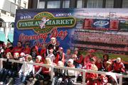 Findlay Market sponsored the Opening Day Parade for its 94th year.